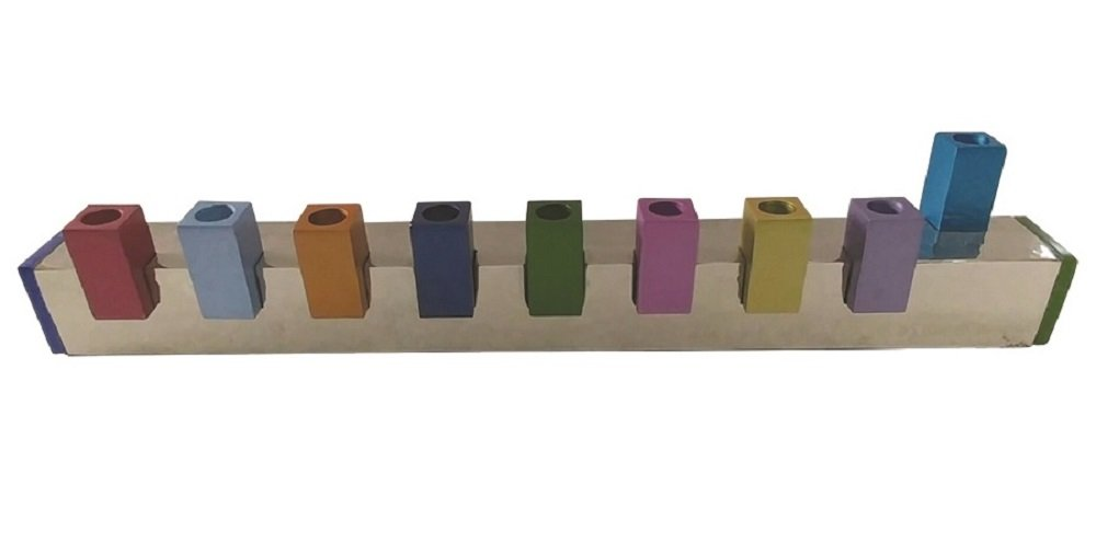 Lamp Lighters Ultimate Judaica Menorah Multi 12.2'' x 1.5'' x 2.5''