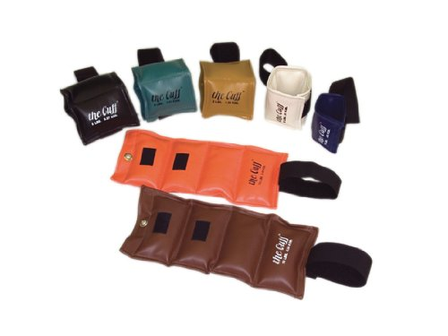 Fabrication Enterprises 10-0250 The Original Cuff Ankle and Wrist Weight - 7 Piece Set