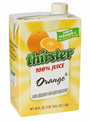 orange juice cartons - 8