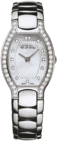 Ebel Women's 9656G28/9991070 Beluga Tonneau Mother-Of-Pearl Diamond Dial Watch
