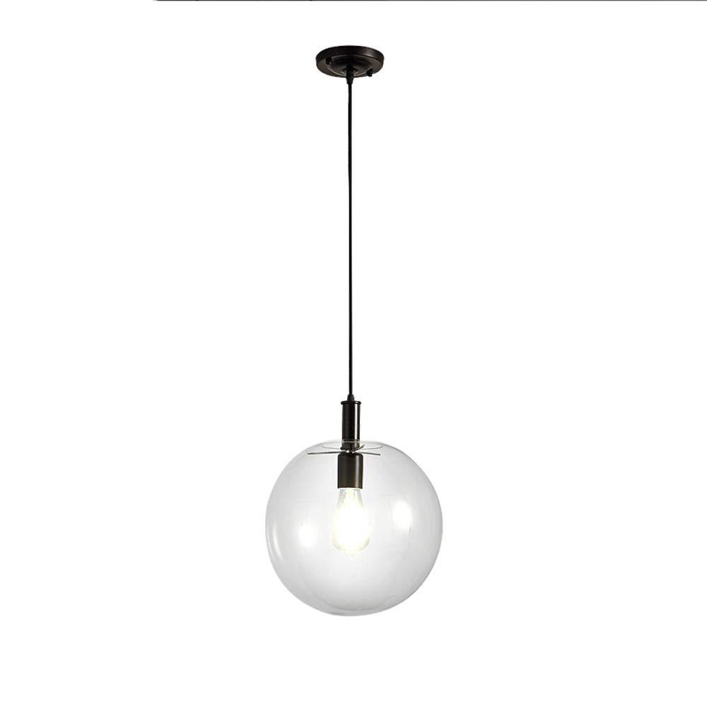 150CM Kette Einstellbare Deckenpendelleuchte Moderne Nordic Klarglas Kugel hängende Lampe Europäische Mode Wohnzimmer Droplight Bar Esszimmer Restaurant Suspension Lampen Kronleuchter Dekorative