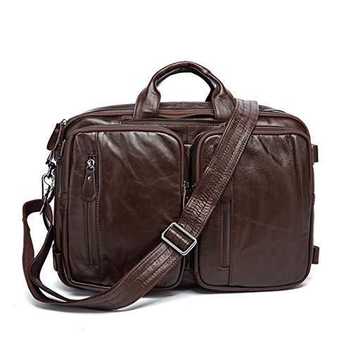 En Couche Bandoulière Première Homme Yy4 Bag Sac Hommes Multifonctionnel Dark À Pour Kervinfendriyun La Brown Dos De Cuir Messenger Rtq0v