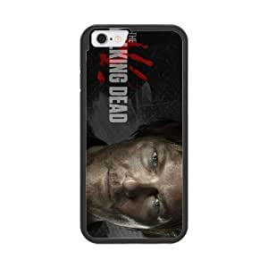 The Walking Dead R2F3SQ5E Caso funda iPhone 6 del teléfono celular de 4.7 pulgadas Caso funda Negro