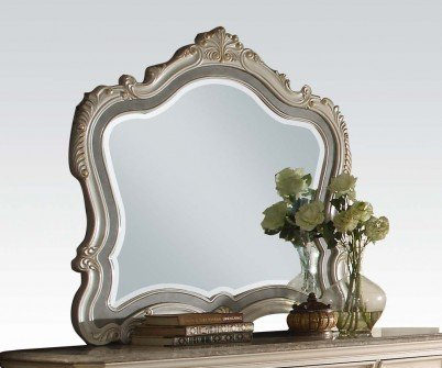 ACME Furniture 23544 Chantelle Mirror, Pearl white