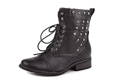 ALICE-06 Women's Combat Boots- Black
