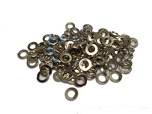 UNITUS JAPAN LTD. LW-M8-6-N M8 BRONZE SPLIT LOCKWASHER NICKEL PLATED (QTY 1000) by UNITUS JAPAN LTD.