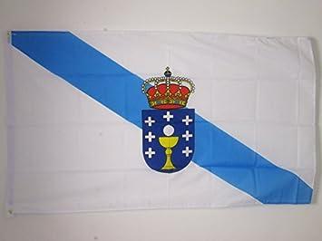 AZ FLAG Bandera de Galicia 150x90cm - Bandera GALLEGA 90 x 150 cm: Amazon.es: Hogar