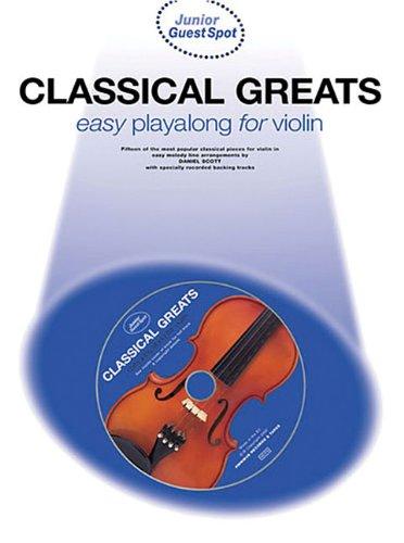 Read Online Junior Guest Spot Classical Greats: Violin ebook