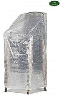 Klassik Schutzhülle für Sitzgruppe rechteckig aus PE-Bändchengewebe transparen