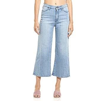 Riders by Lee Women's Birkin Culotte, High Rise Wide Leg Denim Jean, Remastered Blue, 10