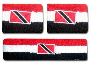 Trinidad & Tobago Flag Wrist Bands (Trinidad Wristband)
