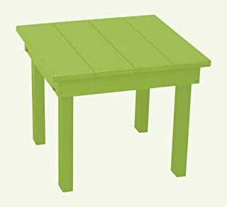 product image for Outdoor Hampton End Table - Lime Green Poly Lumber - Recycled Plastic