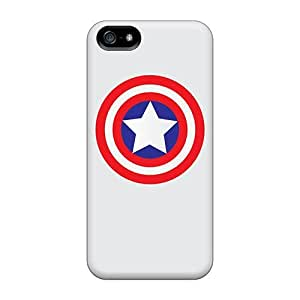 DrunkLove Case Cover Skin For Iphone 5/5s (caps Shield Simple)