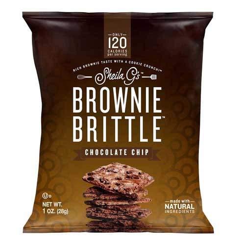 Sheila Gs Chocolate Chip Brownie Brittle, 1 Ounce - 48 per case.