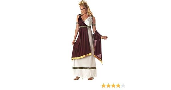 Disfraz de emperatriz romana mujer: Amazon.es: Juguetes y juegos