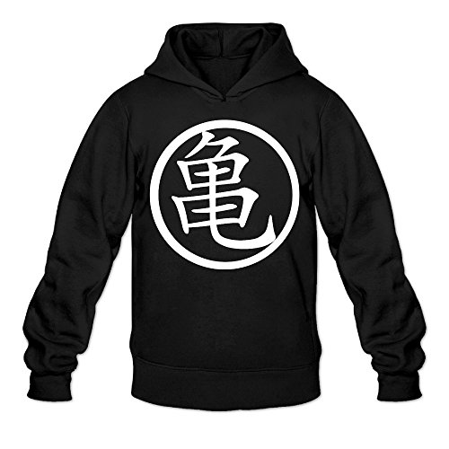 CYANY Master Roshi DBZ Japanese Comic Character LOGO Women's Unique Hoodies Sweatshirt XXLBlack