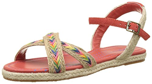 Sandals Women's Pepe Venize Burnt Tapes Orange Jeans Red gwwnTfSq
