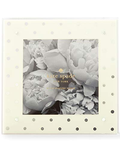 Kate Spade Picture Frame, Silver Dot (177358)
