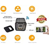 USB Hidden Camera WiFi HD1080p Remote View by DENT Products - 128 gb Capacity Spy Pet Nanny Cam
