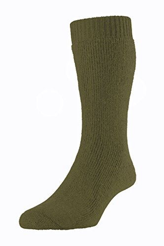 subzero-wool-blend-cushioned-short-thermal-walking-socks-medium-uk7-10-military-green