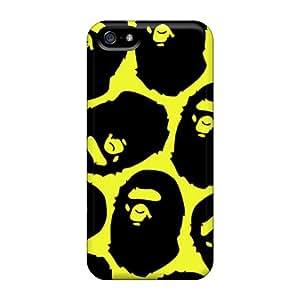 Best Hard Cell-phone Case For Iphone 5/5s (aDT4786gcWL) Unique Design Vivid Bape Pictures
