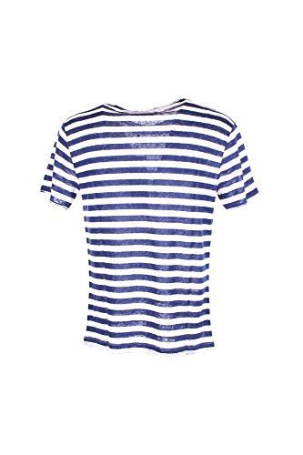 T-shirt Uomo Yes-zee L Blu T747 Rc00 Primavera Estate 2018