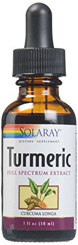 Solaray Turmeric Natural Root Extract Drops, 1 - Solaray Extract Root Turmeric