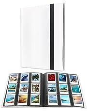 432 Pockets Photo Album for Fujifilm Instax Mini 11 90 70 9 8+ 8 LiPlay Instant Camera, Polaroid Snap SnapTouch PIC-300 Z2300 Instant Camera, Kodak Smile Printomatic Instant Print Camera (White)