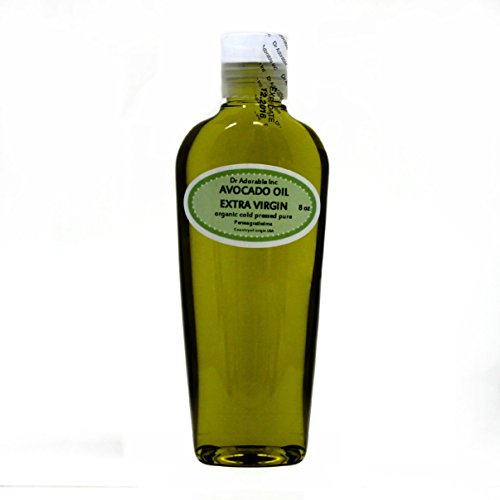 8 OZ PREMIUM AVOCADO OIL EXTRA VIRGIN RAW UNREFINED ORGANIC COLD PRESSED by Dr Adorable