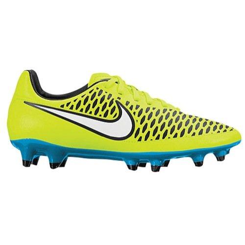 New Nike Womens Magista Onda FG Soccer Cleat Volt/Blue Lagoon 8.5
