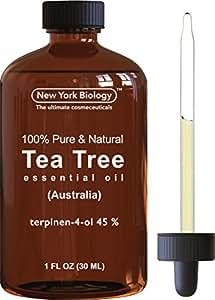 Tea Tree Oil (Australian) - 100% Pure & Natural - 45% Terpenin-4-ol - Triple Extra Quality Premium Therapeutic Grade - 1 fl oz