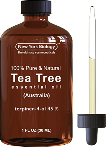 Tea Tree Oil (Australian) - 100% Pure & Natural - (Australian Lemon Myrtle Oil)