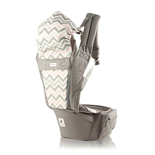 SINNAYEO - Orga Plus Mushroom Organic Cotton All in One Baby Hip Seat Carrier by SINNAYEO