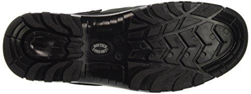 Scarpa Di Sicurezza Routier Comfort Ii, Verde / Nero Aperto Con Cinghie Sb + Src