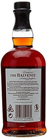 Balvenie - Single Barrel Whisky 15 años, 700 ml
