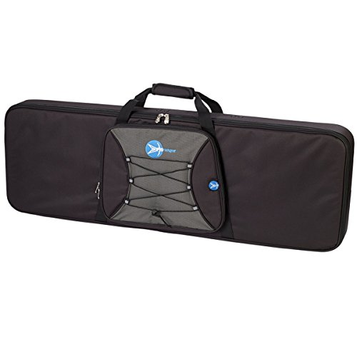 ProRockGear RG386WS Armor Guard Wood Electric Bass Case, (Guitar Rectangular Case)