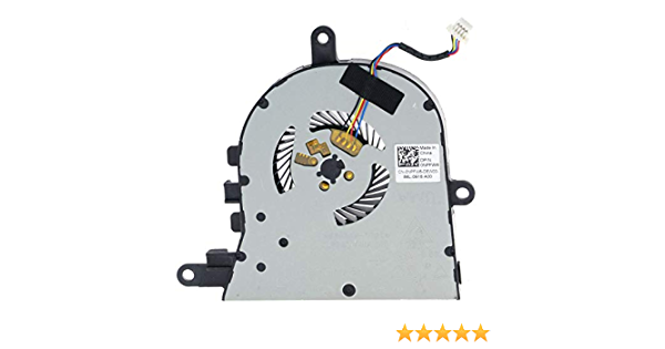 Deal4GO CPU Cooling Fan for Dell Inspiron 15 5570 5575 5770 Latitude 3490 3590 E3490 E3590 DC28000K9F0 DC28000K9D0 0FX0M0 FX0M0 0NPFW6 NPFW6