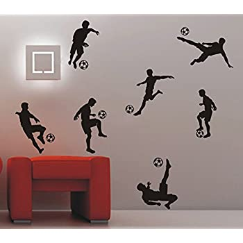 Aiwall FB 001 Soccer Ball Football Wall Stickers Home Decor Wall Decal For Kids  Room