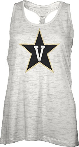 Vanderbilt Womens White Tank Top (NCAA Vanderbilt Commodores Bernice Tank Top,)