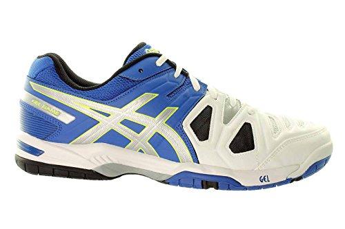 Asics , Chaussures multisports d'extérieur pour homme Blue/Silver/Flash Yellow