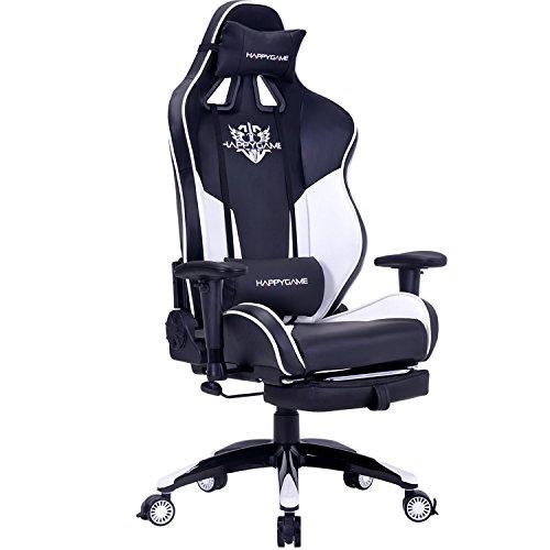 Racing Gaming Chair 400 lb Capacity High-Back Computer ...