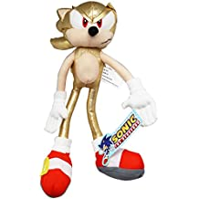 Sonic the Hedgehog Super Sonic Gold Sonic Plush Toy (12in)