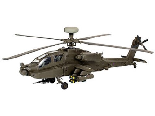 Revell Germany AH-64D/WAH-64D Longbow Apache Model Kit - Apache Model Kit
