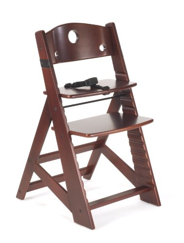 Keekaroo Height Right Kids High Chair (Mahogany)