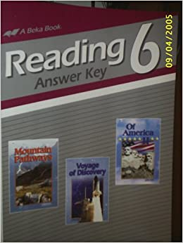 Reading 6 (Sixth grade Answer Key): Beka Book: Amazon com: Books