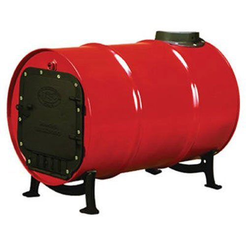 US Stove BSK1000 Cast Iron Barrel Stove Kit (Renewed) (Barrel Cast Iron Stove)