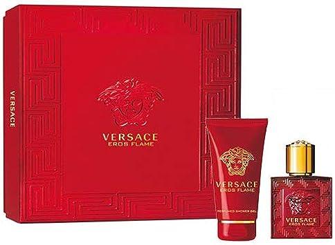 Versace Eros Flame Set - Eau de Parfum + Shower Gel Edición Limitada