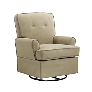 Amazon Com Baby Relax The Tinsley Nursery Swivel Glider