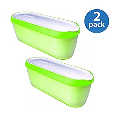 Tovolo Glide-A-Scoop Ice Cream Tub - Pistachio (GREEN, 2)