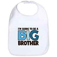 CafePress - I'm Going To Be A Big Brother T-Shirt Bib - Cute Cloth Baby Bib, Toddler Bib